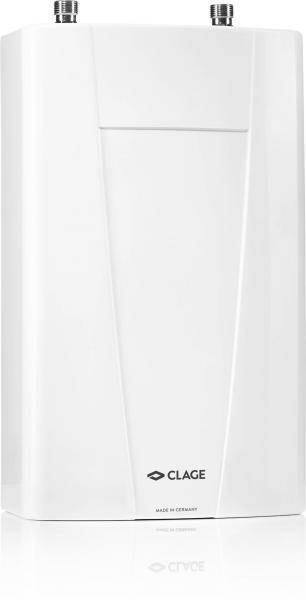 Компактный проточный водонагреватель с электронной системой управления температурой без дополнительных настроек. Два варианта мощности. Для монтажа под раковиной.