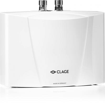 Компактный проточный водонагреватель с гидравлической системой управления температурой.