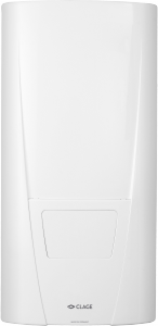Проточный водонагреватель Clage DBX с электронным управлением.