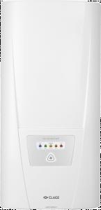 Проточный водонагреватель с электронным управлением и пятью предустановленными значениями температуры на выбор.