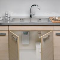 Проточные водонагреватели Clage CEX-U практически не занимают места на кухне